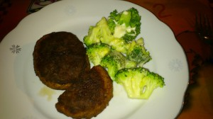 Rindergehacktes mit Brokkoli